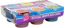 crystal shave ice cake rainbow of flavors Mayto Sales Nutrition info