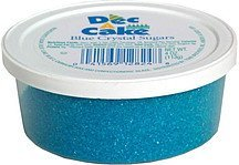 crystal sugars, blue Dec a cake Nutrition info