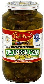 cucumber chips sweet Bell View Nutrition info