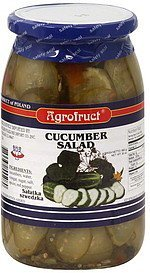 cucumber salad Agrofruct Nutrition info