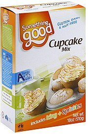 cupcake mix Something Good Nutrition info