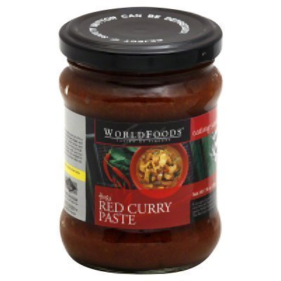 curry paste red, thai World Foods Nutrition info