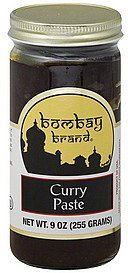 curry paste Bombay Nutrition info
