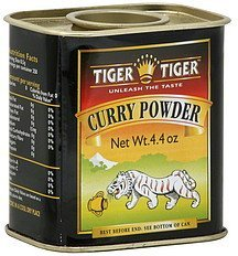 curry powder Tiger Tiger Nutrition info