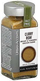 curry row Urban Accents Nutrition info