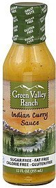 curry sauce indian Green Valley Ranch Nutrition info