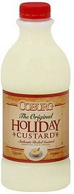 custard holiday Coburg Nutrition info