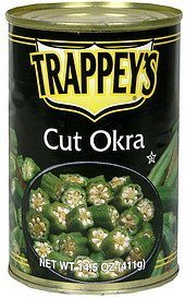 cut okra Trappeys Nutrition info