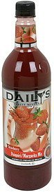 daiquiri/margarita mix strawberry Dailys Nutrition info