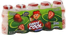 dairy beverage strawberry Sabor Cool Nutrition info