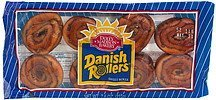 danish rollers sweet rolls Dolly Madison Bakery Nutrition info