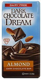 dark chocolate bar almond Chocolate Dream Nutrition info
