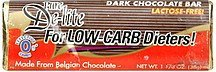 dark chocolate bar Pure De-lite Nutrition info