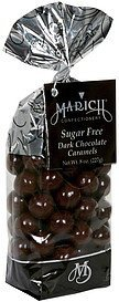 dark chocolate caramels sugar free Marich Nutrition info