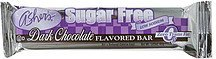 dark chocolate flavored bar sugar free Ashers Nutrition info