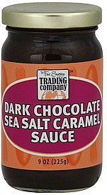 dark chocolate sea salt caramel sauce The Food Emporium Trading Company Nutrition info