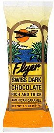 dark chocolate swiss, rich and thick Flyer Nutrition info