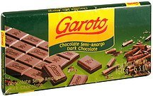 dark chocolate Garoto Nutrition info