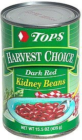 dark red kidney beans Hy Tops Nutrition info