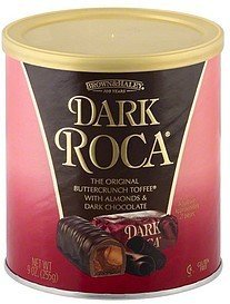 dark roca Brown & Haley Nutrition info