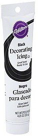 decorating icing black Wilton Nutrition info