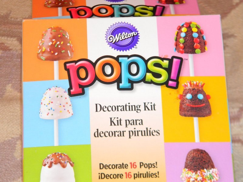 decorating kit pops! Wilton Nutrition info
