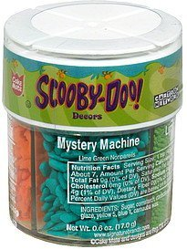 decors scooby doo Cake mate Nutrition info