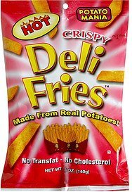 deli fries hot Potato Mania Nutrition info