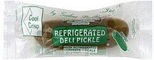 deli pickle refrigerated Cool Crisp Nutrition info