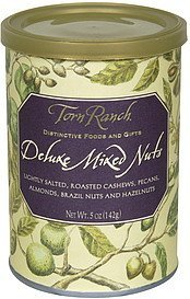 deluxe mixed nuts Torn Ranch Nutrition info
