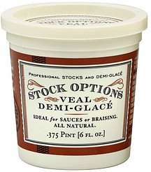 demi-glace veal Stock Options Nutrition info