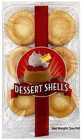dessert shells Specialty Bakers Nutrition info