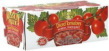 diced tomatoes in rich, thick juice Mission Pride Nutrition info