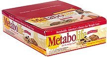 diet & energy bar, outrageous oatmeal raisin Metabolife Nutrition info