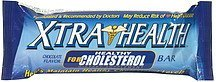 dietary supplement bar for healthy cholesterol, chocolate flavor Xtra Health Nutrition info