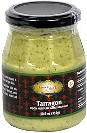 dijon mustard with tarragon Laurent du Clos Nutrition info