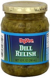 dill relish Hy-Vee Nutrition info