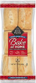 dinner rolls bake at home french Ecce Panis Nutrition info