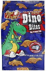 dino bites Fast Fixin' Nutrition info