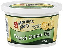 dip french onion Morning Glory Nutrition info