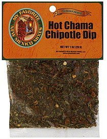 dip hot chama chipotle My Favorite New Mexico Foods Nutrition info