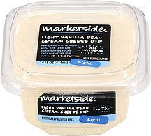 dip light vanilla bean cream cheese Marketside Nutrition info