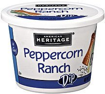 dip peppercorn ranch American Heritage Nutrition info