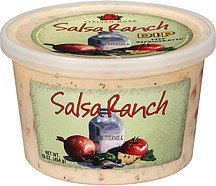 dip salsa ranch buttermilk Italian Rose Nutrition info
