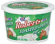 dip toasted onion Roberts Nutrition info