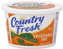 dip vegetable Country Fresh Nutrition info