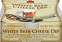 dip white beer cheese Italian Rose Nutrition info
