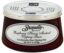 dipping sauce raspberry honey mustard Braswells Nutrition info