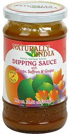 dipping sauce with mango, saffron & ginger Naturally India Nutrition info