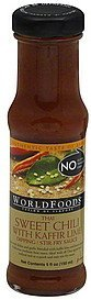 dipping/stir-fry sauce thai sweet chili sauce, medium World Foods Nutrition info